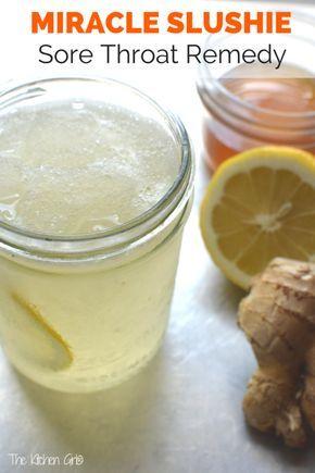 Remède contre les maux de gorge Miracle Slushie