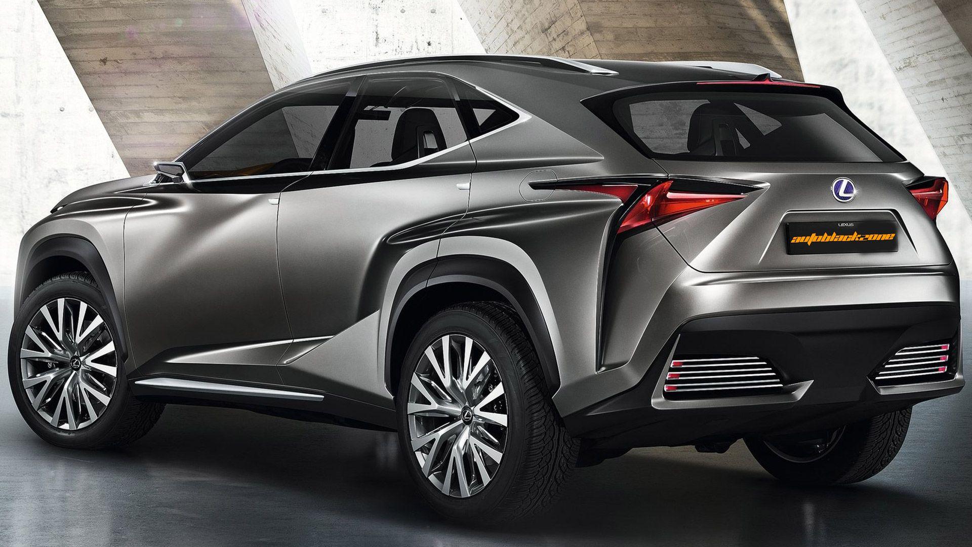 2013 lf nx concept Exterior 2013 Lexus LF NX Concept Model   2013 ...