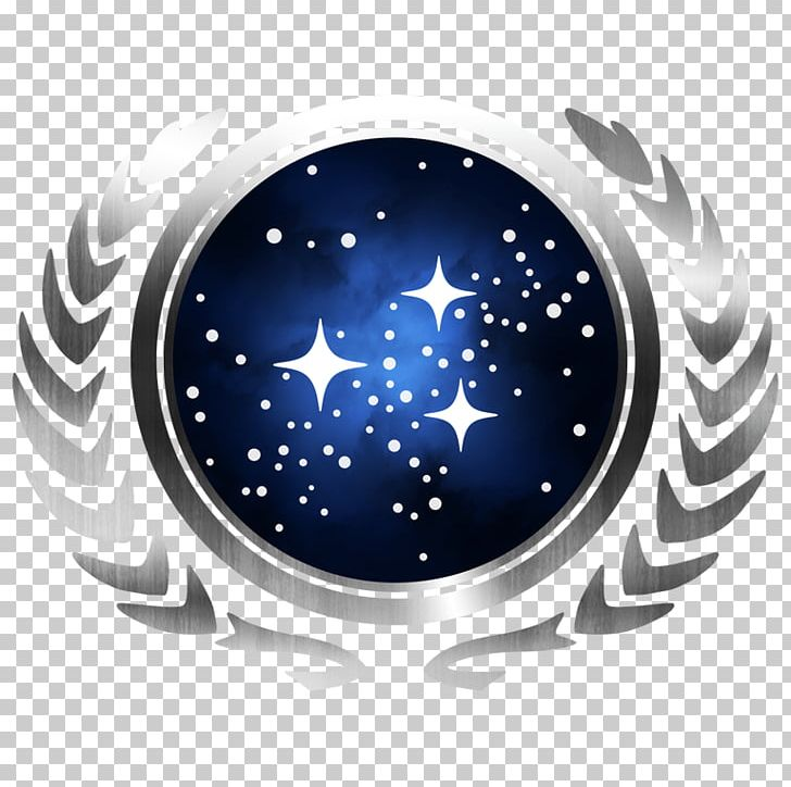 United Federation Of Planets Starfleet Star Trek Decal Tholian Png Clipart Borg Circle Decal Electric Blue Emb United Federation Of Planets Star Trek Png