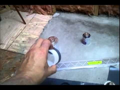 shower pan liner material ! how to install a vinyl shower pan