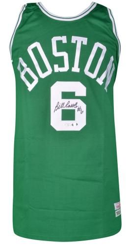 Bill Russell Autographed Jersey. Bill Russell Signed Jersey   SportsMemorabilia  BostonCeltics d641cd1c7