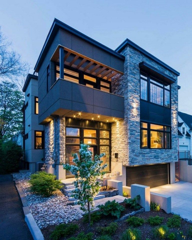 Modern Building Designs 2019: 41 Stunning Ideas For Beautiful House 2019 37 In 2020