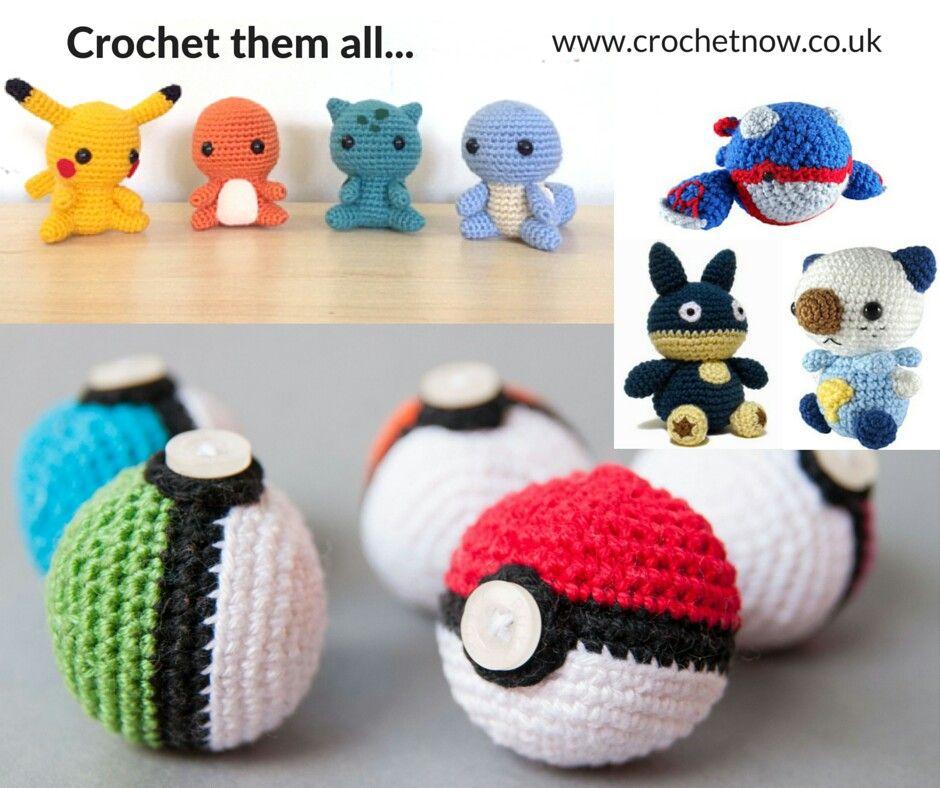 It\'s cool!😍 #crochet #crocheting #yarnart #yarnlover #yarn #pokemon ...