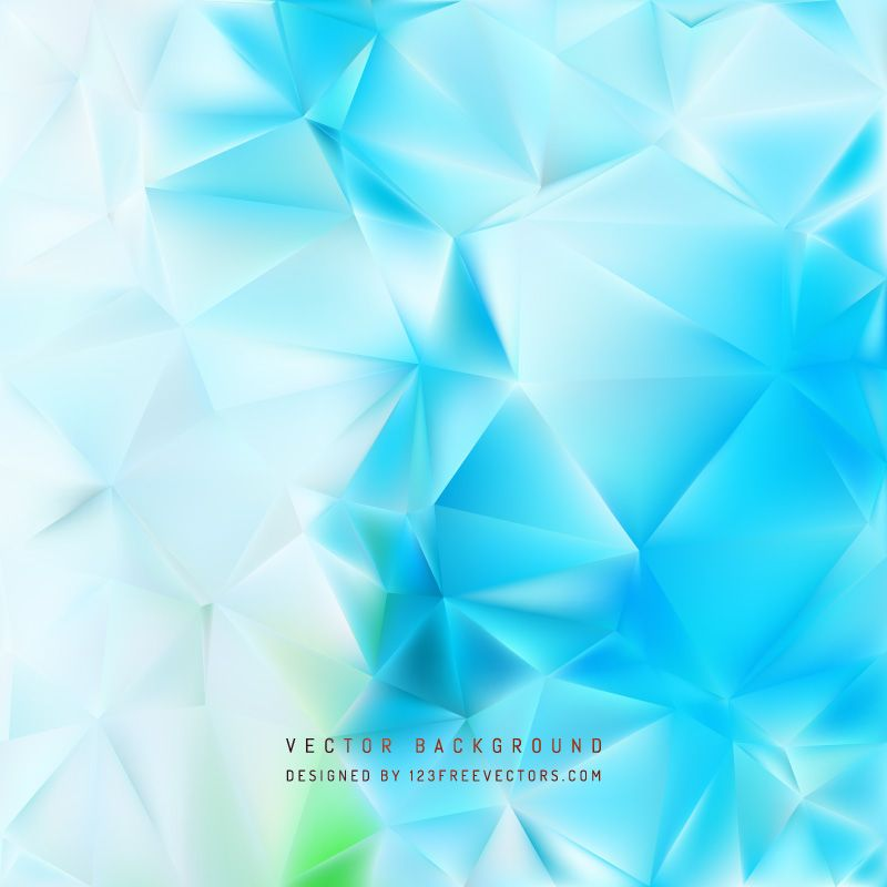 Abstract Light Blue Polygon Pattern Background In 2020 Polygon
