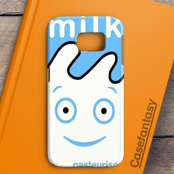 Blur Coffee & Tv Milk Carton Samsung Galaxy S7 Edge Case | casefantasy