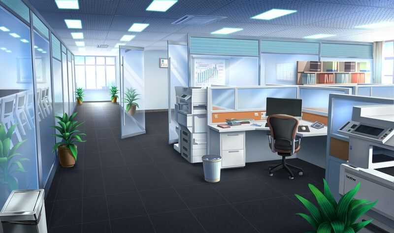 Artstation japanese school office single apartment