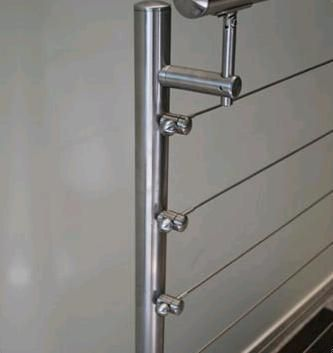 stainless steel cable railing | ... Wire Rope Railings in Mumbai ...