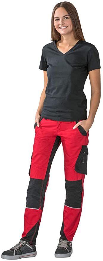 PLANAM NORIT Damenbundhose Arbeitshosen für Frauen Damenhosen Schwarz