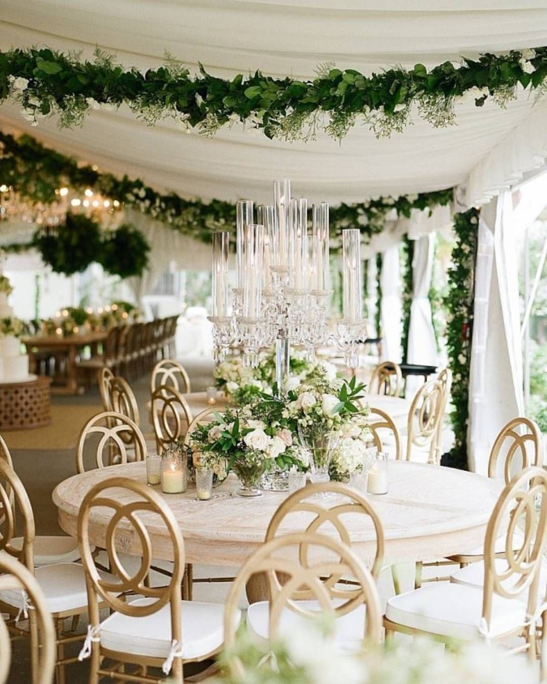 Evening Wedding Reception Decoration Ideas: Pin By STEMS Floral Design + Event Styling On White