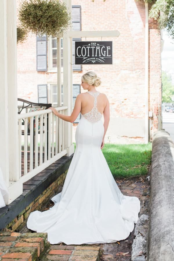 Just Peachy Wilmington Wedding Inspiration Southern Bride