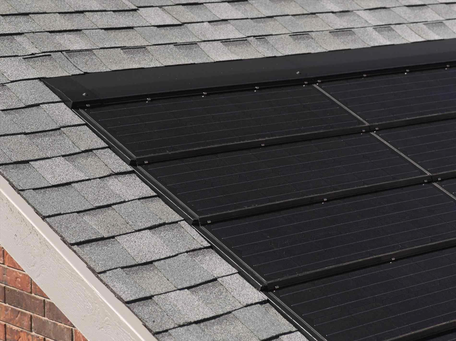 Solar Powered Roof Shingles Roof Integrated With Solar Panels Top Solar Energy Terms Defined Solarpoweredro Solar Panels Solar Roof Tiles Best Solar Panels