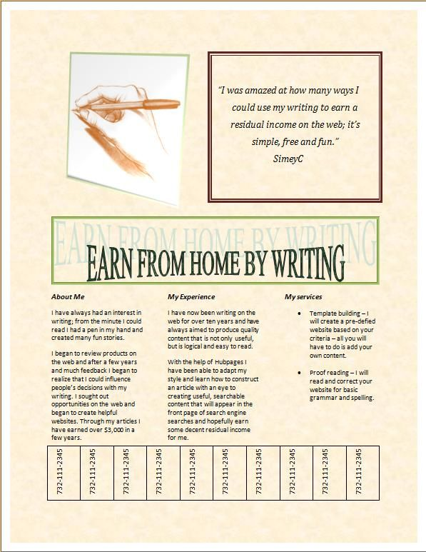How to make a brochure in Microsoft Word My quality articles on