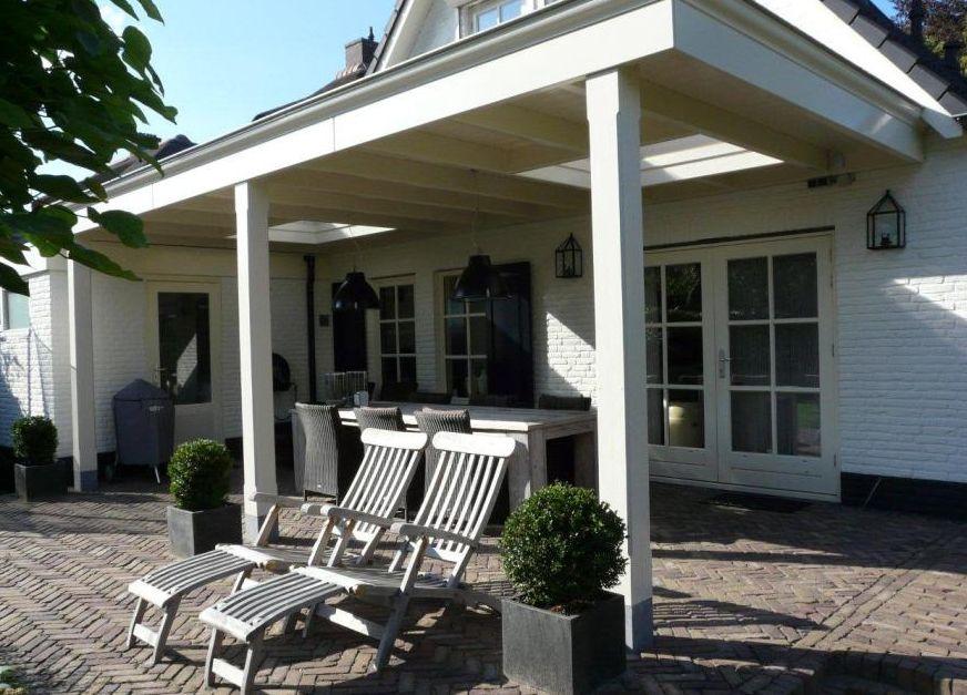 Overkapping terras terras overkapping hout veranda sierlijst