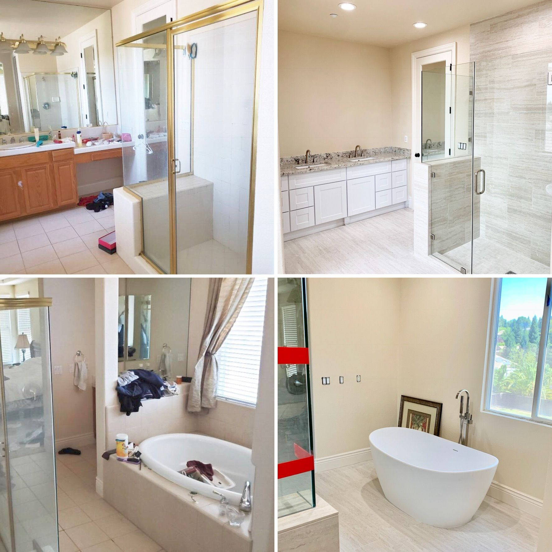 Before After Bathroom Remodel Cb Home Improvements