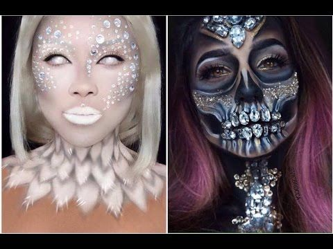 Devil Halloween Makeup Tutorial, Angel Makeup Tutorial Halloween ...