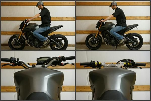 Pin by C G on MT-09 Cafe Racer Ideas | Moped motorcycle, Fz09