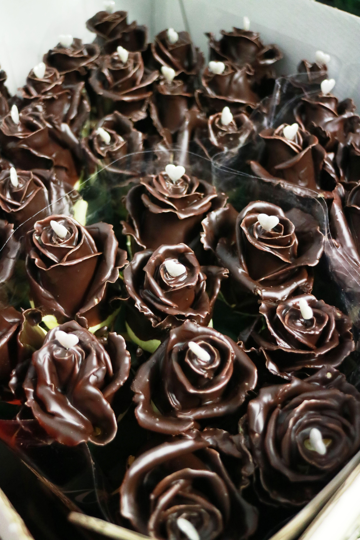 Rose al cioccolato