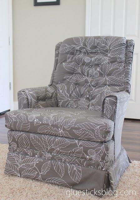 Charmant How To Reupholster A Swivel Rocker Chair