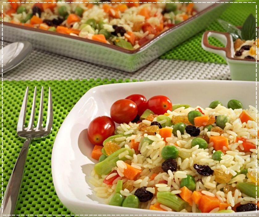 arroz integral grega
