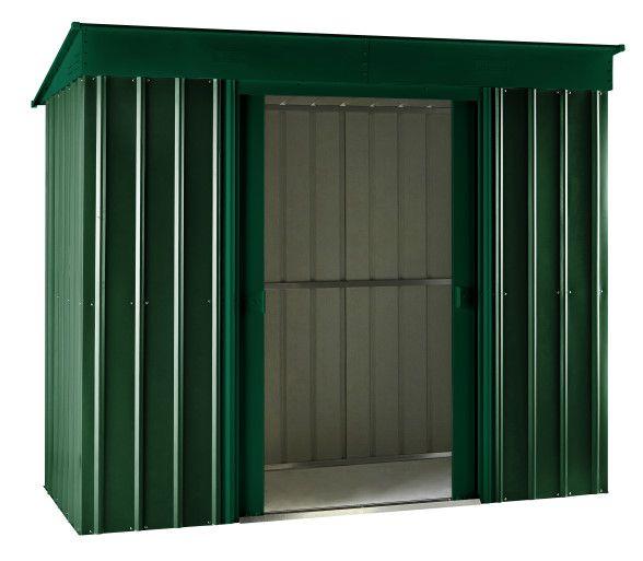 globel industries metall ger tehaus mit pultdach korpusma ca 233 x 113 x 198 cm bxtxh. Black Bedroom Furniture Sets. Home Design Ideas