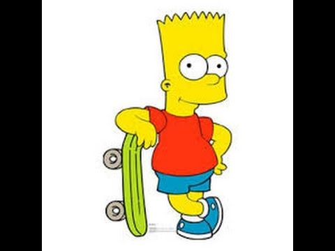 How To Draw Bart Simpson How To Draw Bart Simpson Easy Drawing