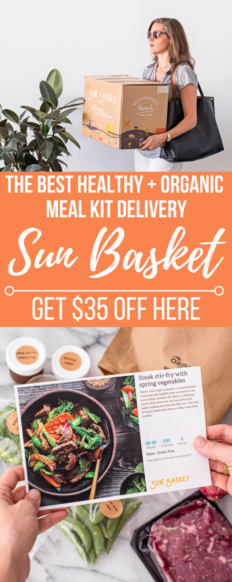 Make Dinner Easy With Sun Basket The Best Healthy Meal Kit Delivery Service Sun Basket Off Organic Recipes Healthy Organic Vegan Recipes Good Healthy Recipes