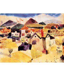 Paul Klee, Ansicht von Saint Germain