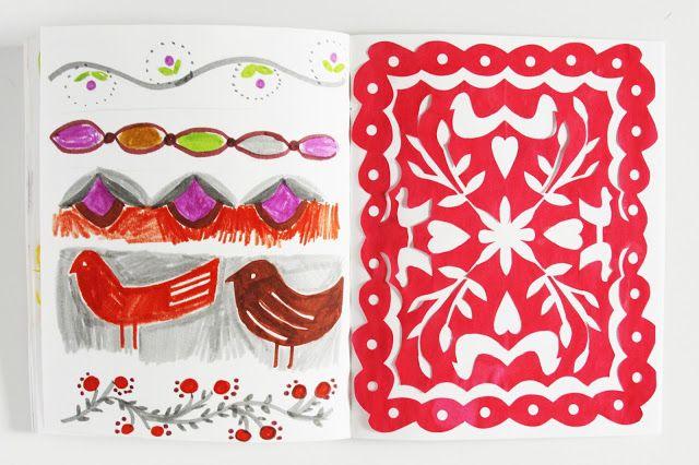 2x2 Sketchbook Week 56 by Dana Barbieri and Anne Butera