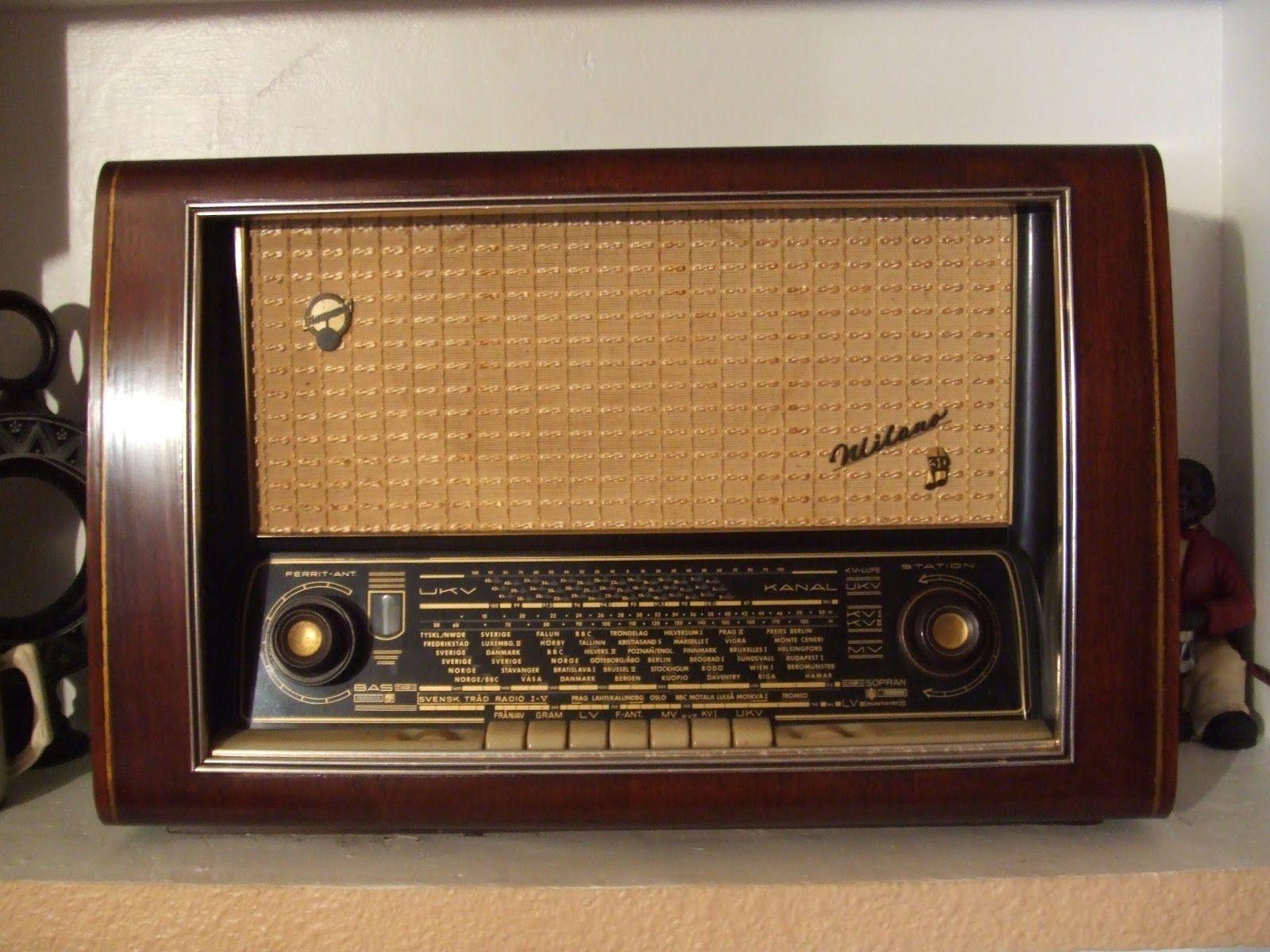 Radio Antigua Anos 50 Vintage Radio Radio Design Antique Radio