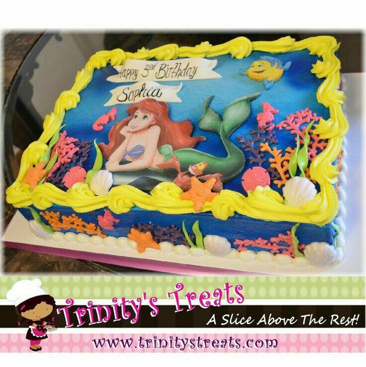2nd birthday by ashley sharp little mermaid birthday