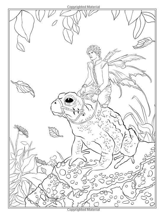 Pin de marjolaine grange en coloriage fée et lutin | Pinterest