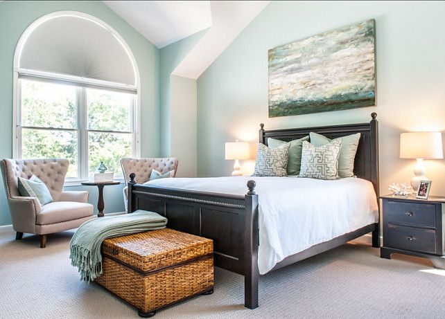 Interior Paint Color And Color Palette Ideas With Pictures Benjamin Moore Hc 144 Palladian Blue