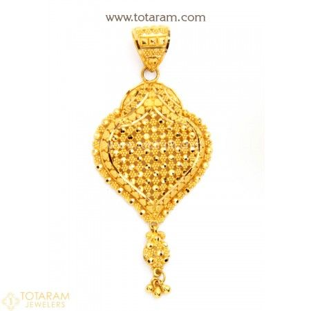 22k Gold Pendant 235 Gp2916 Buy This Latest Indian Gold Jewelry Design In 8 300 Grams For A Low Price Of 513 99