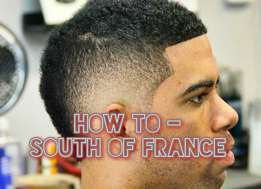 How To South Of France Haircut The Usher Cut Or Burst Fade