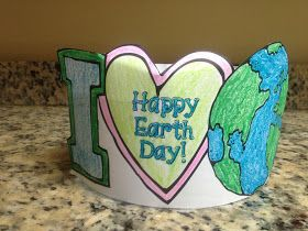 Krazee 4 Kindergarten Earth Day Freebie Includes Headband