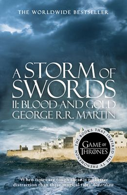 A Storm Of Swords: Book 3 Of A Song Of Ice And Fire - new cover