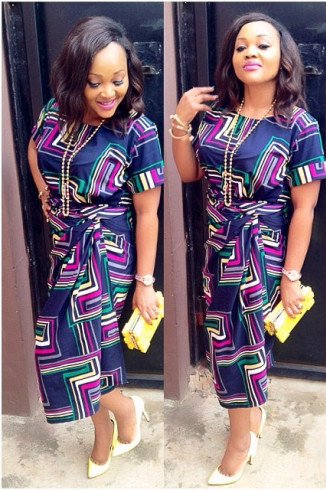 Mercy Aigbe Ankara Style Dresses And Designs Pinterest