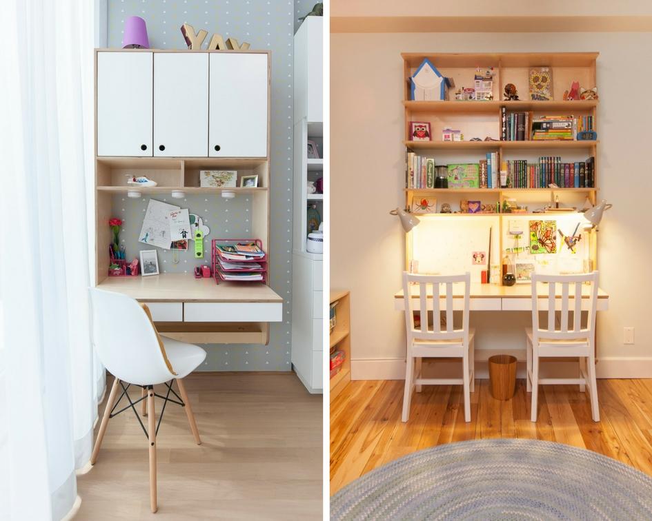 Modern kids desks for study and art — Casa Kids