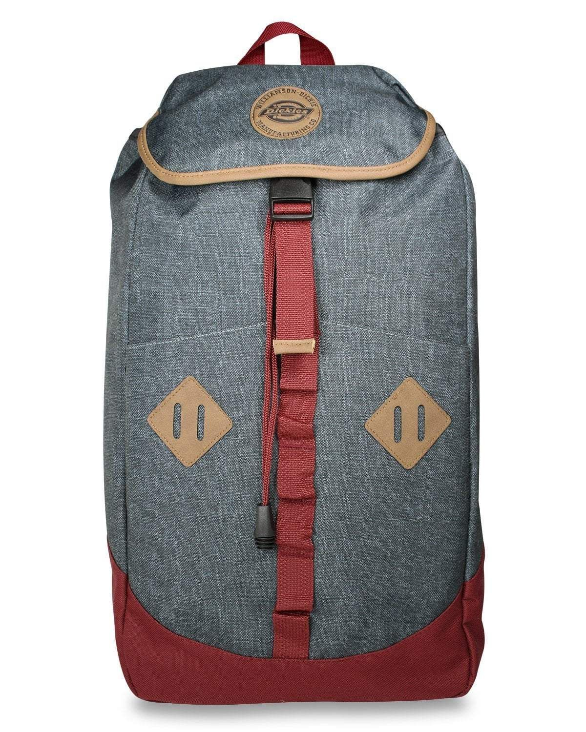 22f44fa2d Dickies Pop Top 300d Poly Backpack, Charcoal Heather in 2019 ...