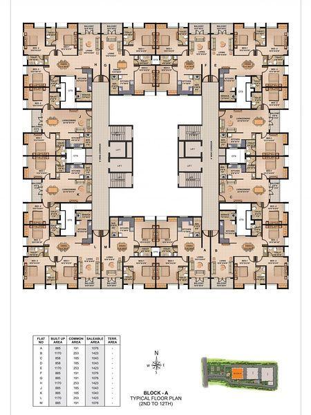 Housing Tower Recherche Google Architectural Floor Plans Architecture Plan Hotel Floor Plan
