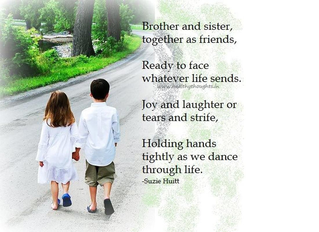Tags For Brothers And Sisters Wallpaperg For Mobile Phone Brother Quotes Sister Quotes Brother N Sister Quotes