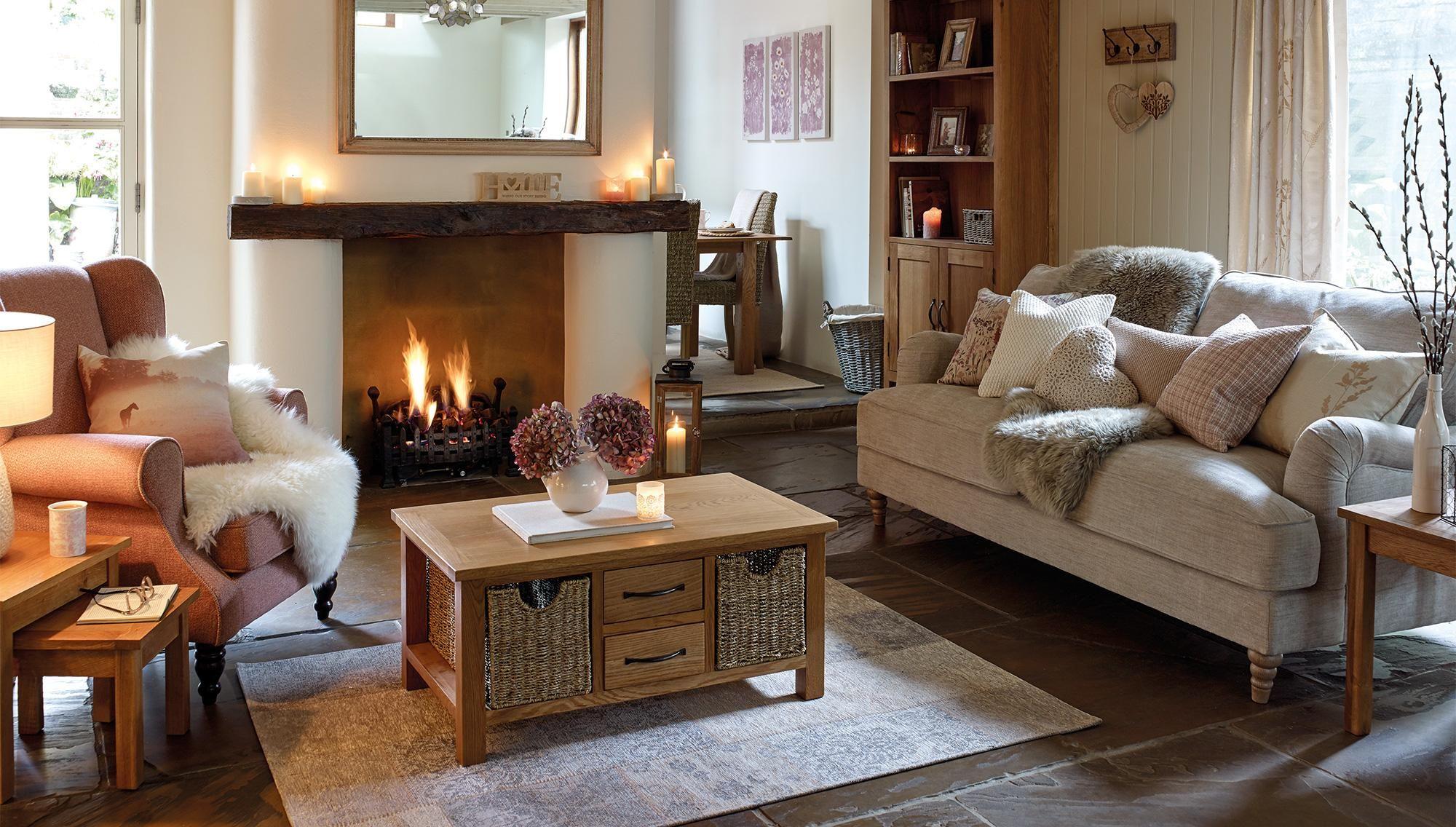 sidmouth oak furniture, from £89.99 | oak furniture living