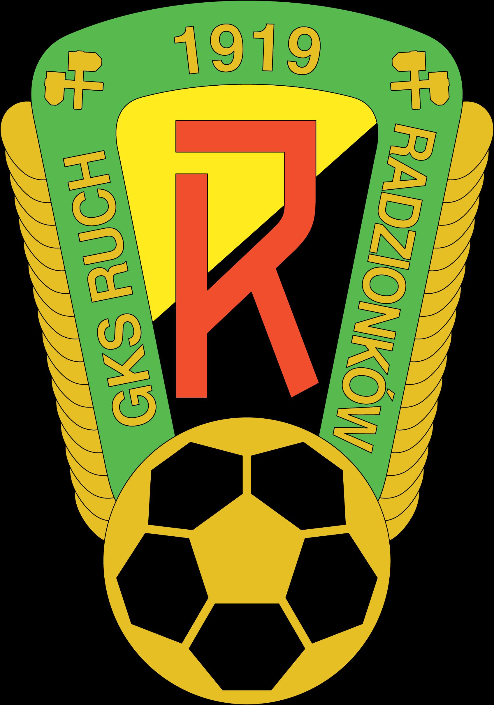 KS Ruch Radzionkow Football logo, Sports logo, Mountain dew