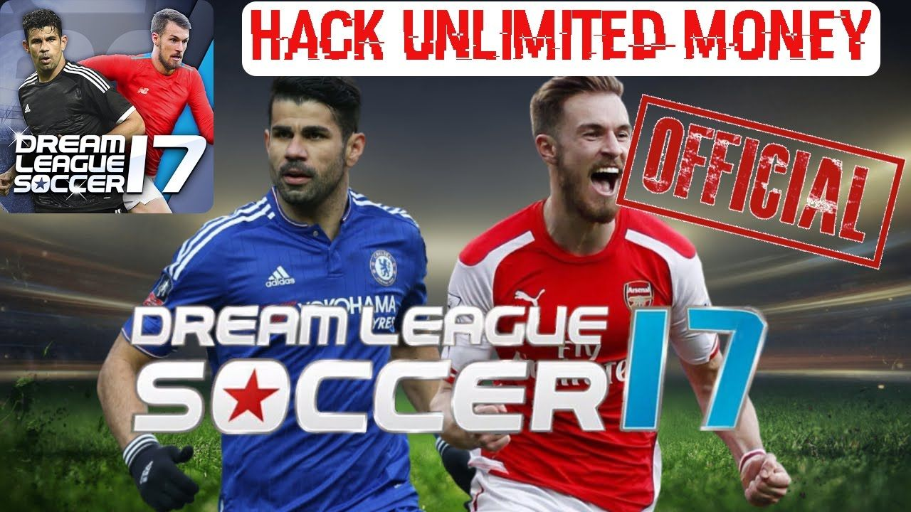 Dream League Soccer 2017 Mod Apk Unlimited Money Gold Coins Youtube League Android Games