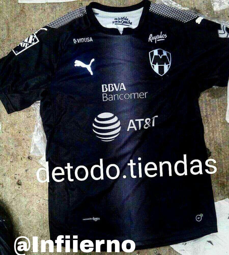 017a520caef29 Jersey visitante de Monterrey 2017-18