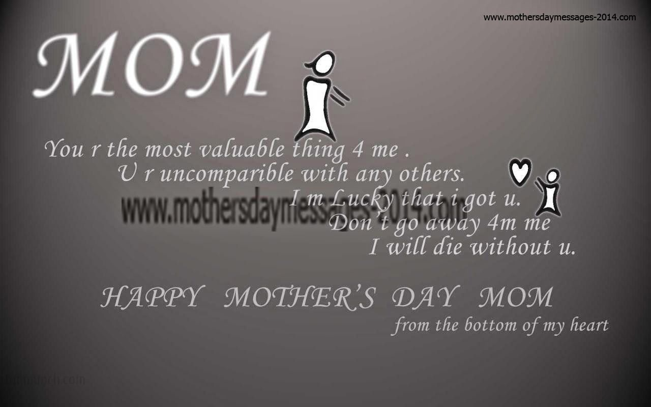 Quotes About Text Messages: Happy Mother's Day SMS / Text Messages, Quotes, Greetings