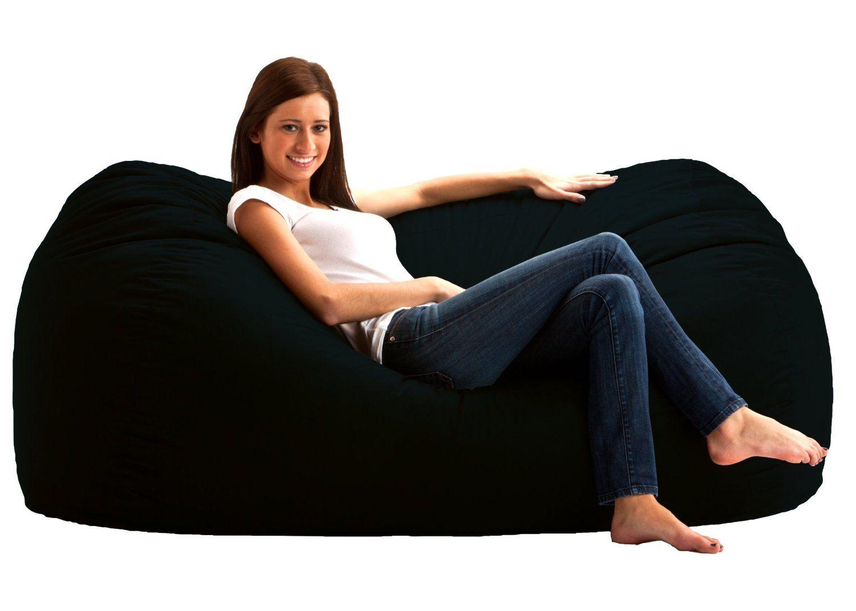 Bean Bag Chair Gaming Lounger Dorm Kids Even Office Furniture Oversized
