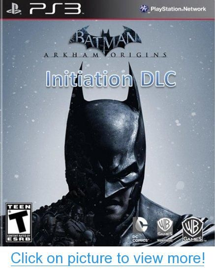 Batman Arkham Origins Initiation Dlc Ps3 Digital Code Batman