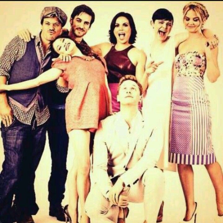 Once Upon A Time Cast : )