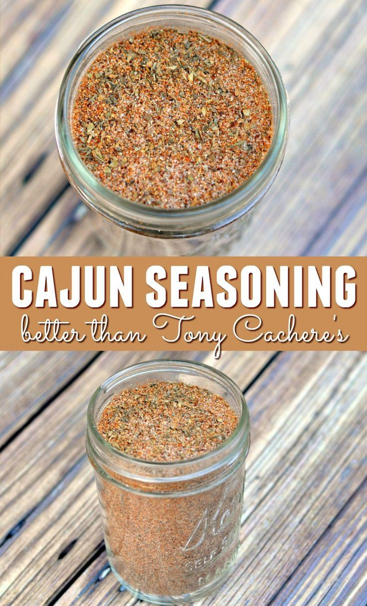 Cajun Seasoning: Better Than Tony Cachere's - Happy Mothering